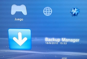 PS3 Backup Manager Jailbreak chip